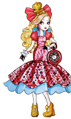 Ever After High Way To Wonderland Apple White Artwork