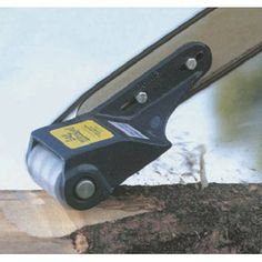 Log Debarking Tool - This chain saw attachment turns your chain saw into an amazing tool to debark logs in less time than you ever thought possible. Perfect for log home builders, portable sawmill operators, farmers, ranchers and more. Simple construction allows for easy mounting. Uses standard 3 1/4in. planer blades.