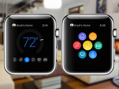 Connected Home Apple Watch Concept