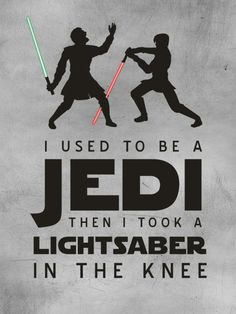 I used to be a Jedi.So Skyrim! Nerd Love, My Love, Star Wars Jokes, Arrow To The Knee, Cinema, The Force Is Strong, Geek Out, Skyrim, Really Funny