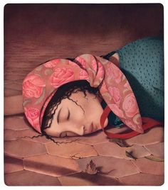 Le bois dormait - Illustrations de Rebecca Dautremer -  Album illustré -2016 - Editions Sarbacanne