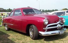 1949 Ford Maroon