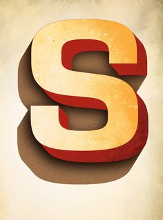 Typography by jeff rogers, via Behance