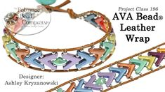 AVA Bead Leather Wrap (Tutorial)
