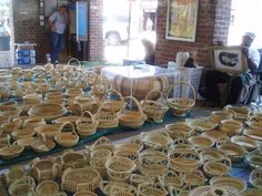 Charleston known for sweetgrass baskets