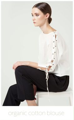 db6f68a9 Iris Laced Blouse is made of 100% (GOTS) certified organic cotton, you