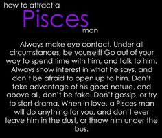 How To Ask A Pisces Man Out