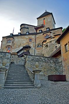Orava Castle, Slovakia Bratislava, Travel Around The World, Around The Worlds, European Countries, Capital City, South America, Palace, Travel Destinations, Places To Visit