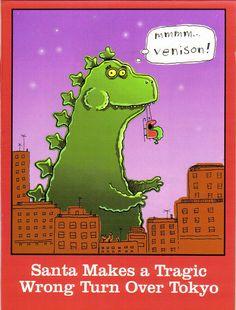 Merry Christmas from Godzilla! | GODZILLA: THE ABSOLUTE KING OF ...