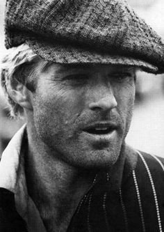 Robert Redford -not bad for a   light haired guy!