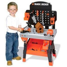 Black And Decker Toy Tool Bench Accessories
