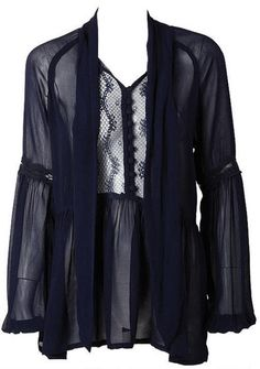 I love love this, but it doesn't come in my size. Bummer. It would be great for gigs. Like the dark blue, too. A lot.  :[