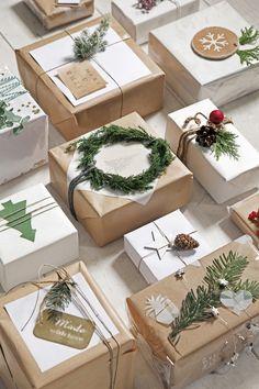 Mooi verpakte cadeaus #kerst #cadeaus #inpakken #intratuin