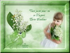 1er Mai Fête du Muguet 2 - Créations Armony Creations, May 1, Good Night, Spring, Recipes, Kitchens