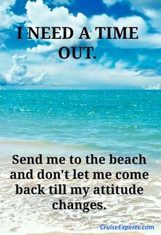 I need a time out...