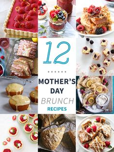 12 Mother's Day Brunch Recipes on tutti-dolci.com