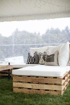 Gallery: rustic farm wooden wedding seating ideas - Deer Pearl Flowers