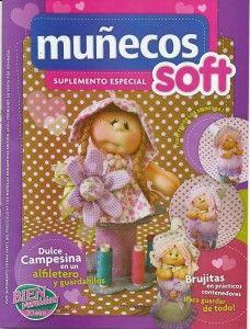 Revista completa incluido patrones de Muñecos Soft, brujitas, dulce campesina en alfiletero y guardahilos...ect