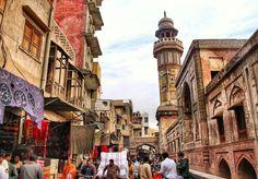 Delhi Gate Walled City Lahore Punjab Pakistan