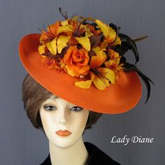 Fascinators - Lady Diane Hats