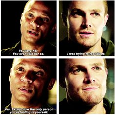 Arrow - Oliver and Diggle #3.1 #Season3 ♥  John Diggle  I LOVE YOU!!! <3