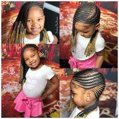 fun hairstyles holiday hairstyles ponytail hairstyles hairstyles for kids to do braids for kids hairstyles for kids hairstyles for girls kids kids hairstyles for girls easy kid hairstyles for girls hairstyles kids hairstyles Little Girl Braid Styles, Kid Braid Styles, Little Girl Braids, Black Girl Braids, Girls Braids, Kid Braids, Tree Braids, Cornrows Kids, Twist Braids
