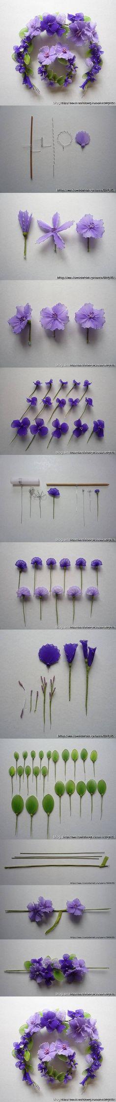 DIY Wire Nylon Flowers DIY Projects | UsefulDIY.com Follow Us on Facebook ==> http://www.facebook.com/UsefulDiy