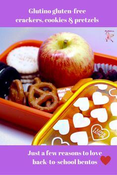 Reward Your Star Student with an A-Plus Gluten-Free Bento ⭐️ #Glutino #glutenfree #pretzels #cookies #crackers #healthy #school #Japanese #bento #lunch ⭐️ NinjaBaker.com