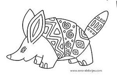 dibujos para dibujar cingulata