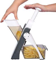 Potato Slicer, Fruits And Veggies, Vegetables, Mandolin Slicer, Hidden Blade, Vegetable Slicer, Food Chopper, Kitchen Gadgets, Kitchen Tools