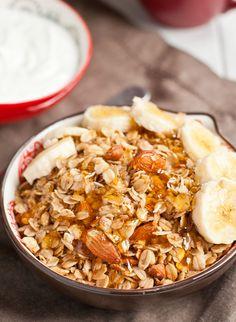 Slow Cooker Honey Nut Granola   NeighborFood