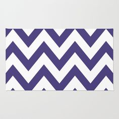 HORNED FROG CHEVRON Area & Throw Rug by n a t a l i e