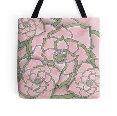 Pink Flower Collage Pattern