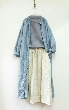 ideas skirt outfits korean fashion sets for 2019 Outfit Stile, Outfit Zusammenstellen, Hijab Outfit, Skirt Outfits Modest, Modest Dresses, Casual Outfits, Cute Outfits, Hijab Casual, Modest Clothing