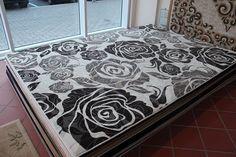 Teppich, Design Modern , 200x300 Cm, Grün, Schurwolle !!! | WOOl CARPETS |  Pinterest