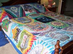 Turn old t-shirts into quilts (Grateful Dead version).