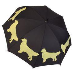 Golden Retriever Umbrella, $25, now featured on Fab.