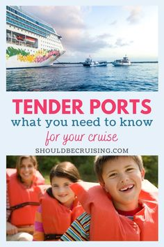 "When you're planning a cruise, you might notice that some port descriptions will say, ""this is a tender port."" Confused? Don't worry. I'll explain everything you need to know about tender ports on your cruise vacation."