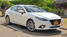 White Mazda 3 S