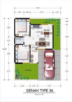 foto denah rumah minimalis sederhana