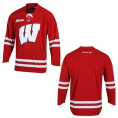 Wi Badger Hockey Jerseys 2