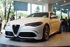 Alfa Romeo Giulia This rear wheel drive beauty with 50/50 weight distribution is coming on the market in 2016.