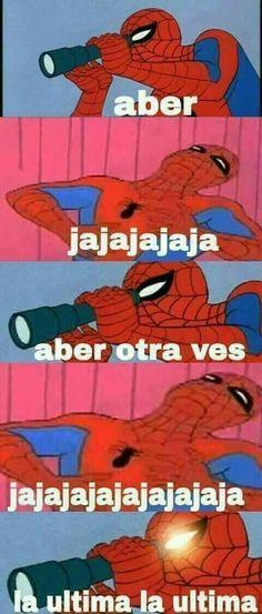 Memes plantillas spiderman new ideas - - All Meme, New Memes, Dankest Memes, Ironic Memes, Funny Marvel Memes, Anime Meme, Spiderman, Shared Folder, Spanish Memes