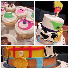 Toy Story Cake Details and Matching Cupcakes | Flickr - Photo Sharing!