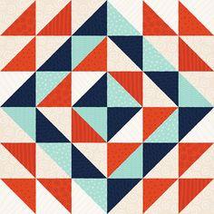 Quilt Pattern by Alyssa Nassner, via Flickr