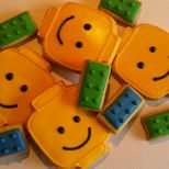 Lego koekjes. Lego cookies
