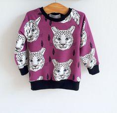 Organic baby sweatshirt kids sweatshirt toddler by GALLUSandLASSIE