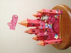Cricut 3D Princess castle