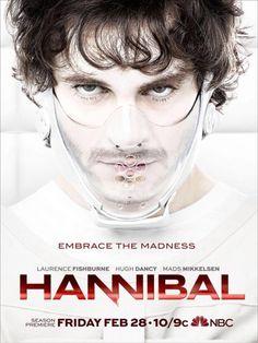 Date de retour en février et affiche pour la seconde saison de #Hannibal #NBC