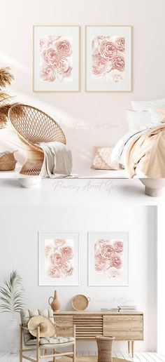 Pink Roses, Pink Flowers, Unique Ring Designs, Autumn Interior, Wall Art For Sale, Childrens Gifts, Decoration, Small Gifts, Fall Decor